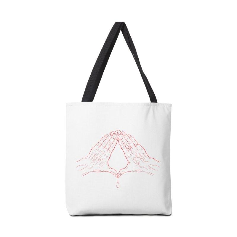 CVNT Lacour x Voidmerch (rd) Accessories Tote Bag Bag by VOID MERCH
