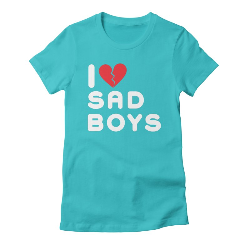 SAD BOYS Ishii x Voidmerch Women's Fitted T-Shirt by VOID MERCH