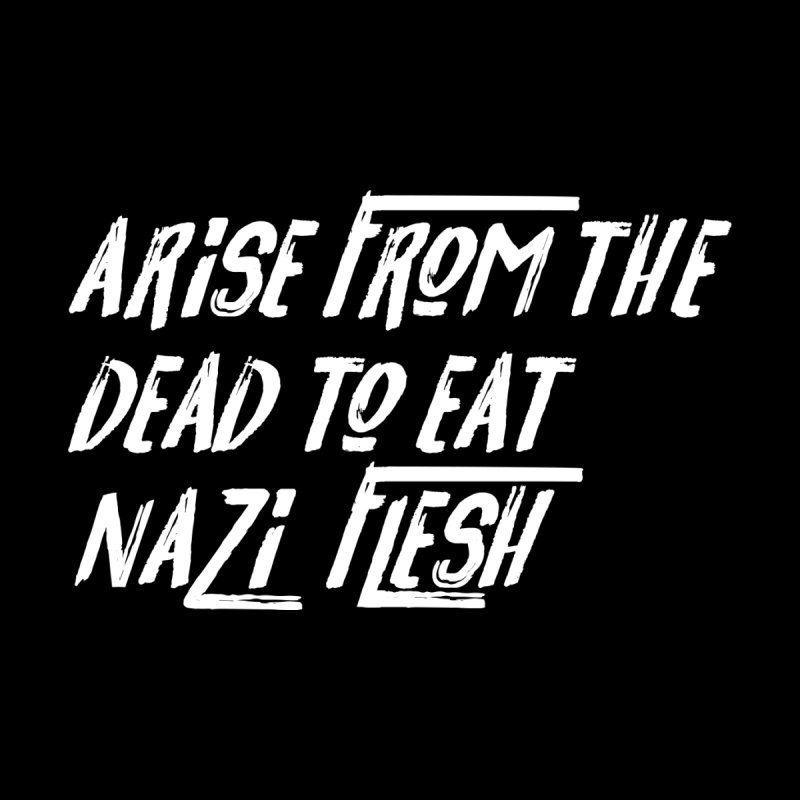 EAT NAZI FLESH Women's V-Neck by VOID MERCH