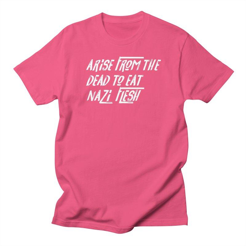 EAT NAZI FLESH Women's Regular Unisex T-Shirt by VOID MERCH