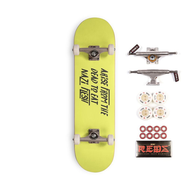 EAT NAZI FLESH Accessories Complete - Pro Skateboard by VOID MERCH