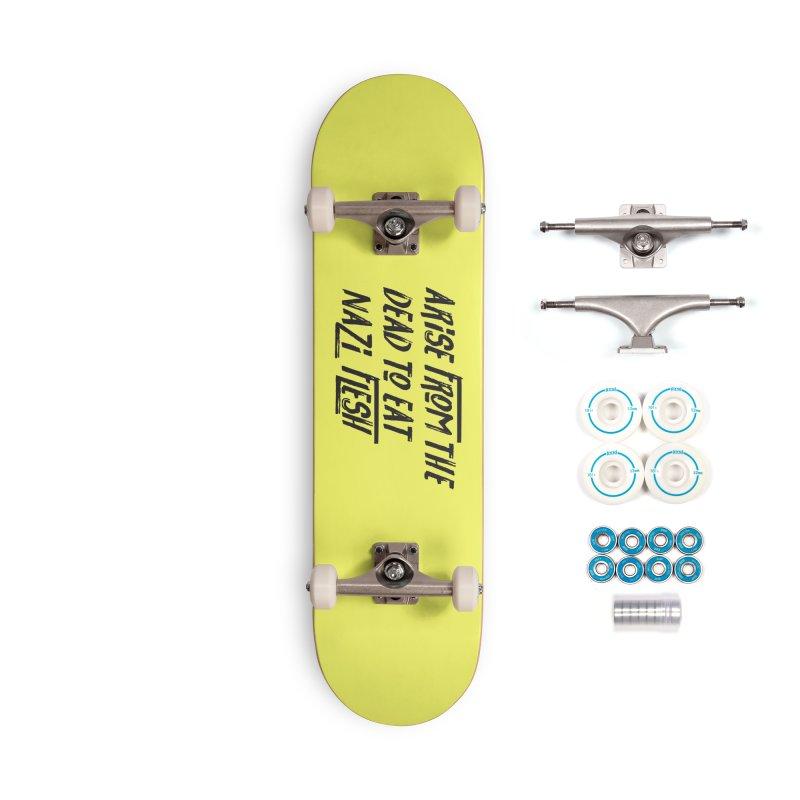 EAT NAZI FLESH Accessories Complete - Basic Skateboard by VOID MERCH
