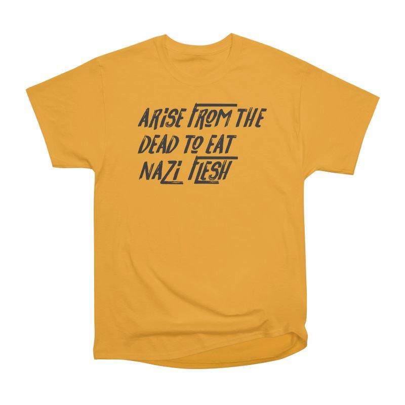 EAT NAZI FLESH Men's Heavyweight T-Shirt by VOID MERCH