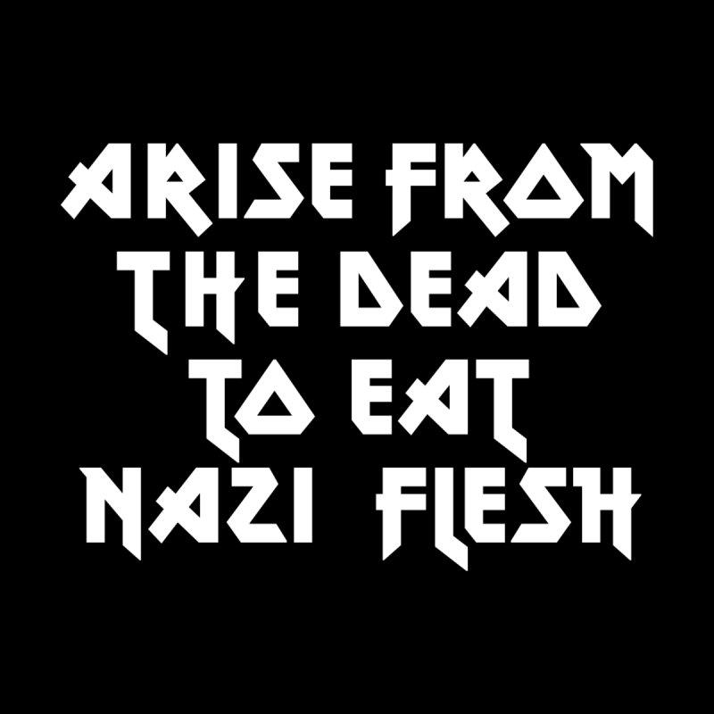EAT NAZI FLESH (METAL) Lavin x Voidmerch by VOID MERCH