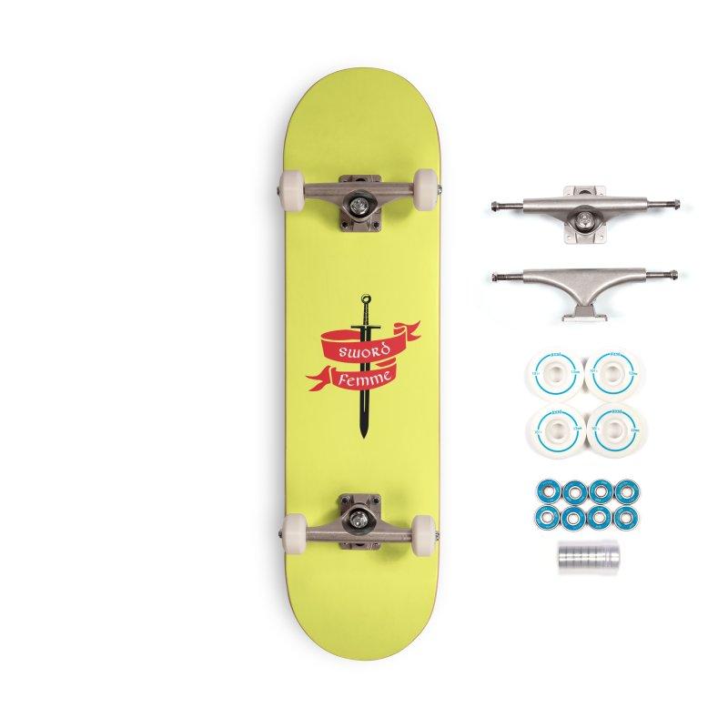 SWORD FEMME (Lavin x Voidmerch) Accessories Complete - Basic Skateboard by VOID MERCH
