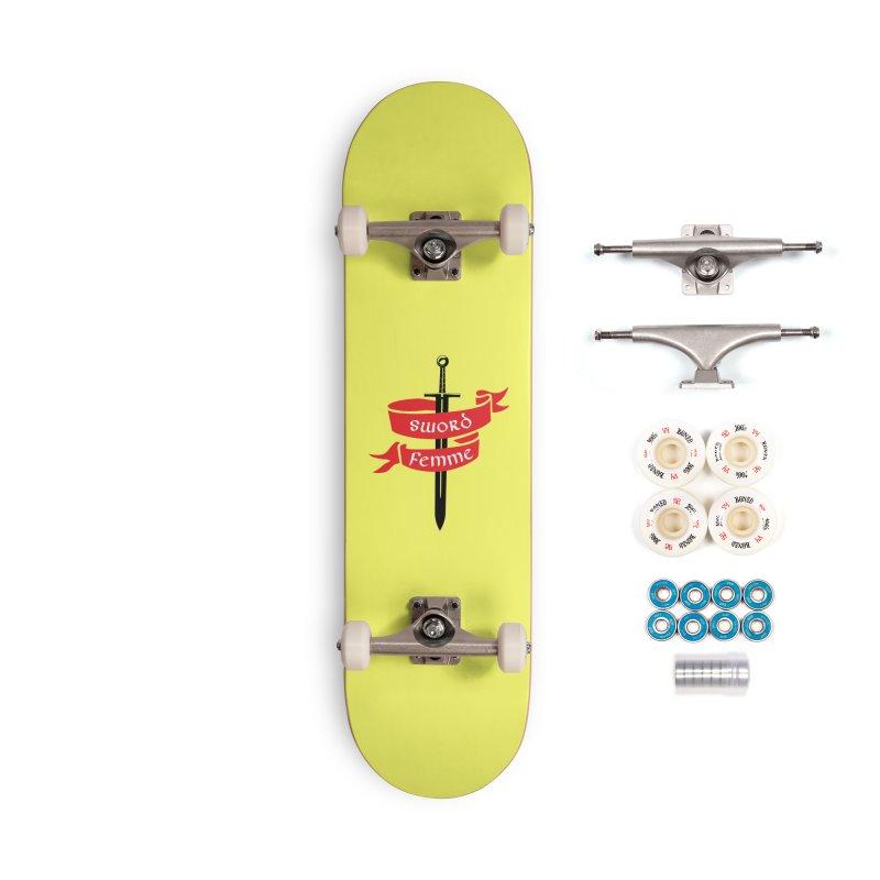 SWORD FEMME (Lavin x Voidmerch) Accessories Complete - Premium Skateboard by VOID MERCH