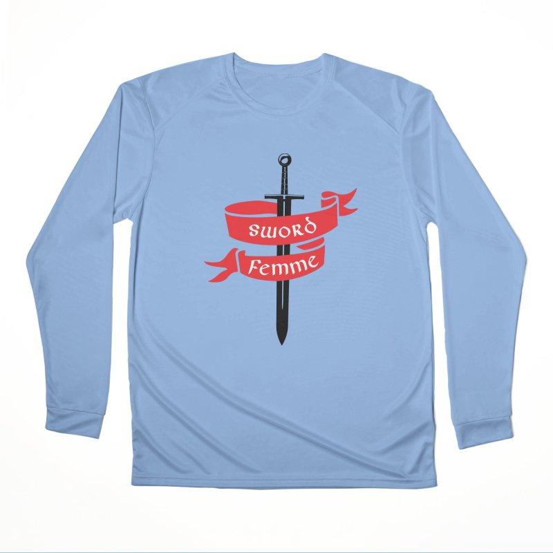 SWORD FEMME (Lavin x Voidmerch) Men's Performance Longsleeve T-Shirt by VOID MERCH