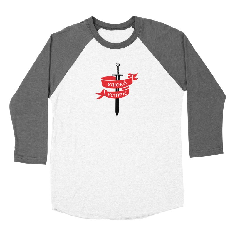 SWORD FEMME (Lavin x Voidmerch) Men's Baseball Triblend Longsleeve T-Shirt by VOID MERCH