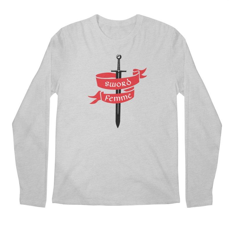 SWORD FEMME (Lavin x Voidmerch) Men's Regular Longsleeve T-Shirt by VOID MERCH