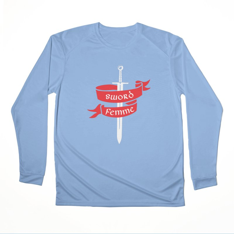 SWORD FEMME (Lavin x Voidmerch) Women's Performance Unisex Longsleeve T-Shirt by VOID MERCH
