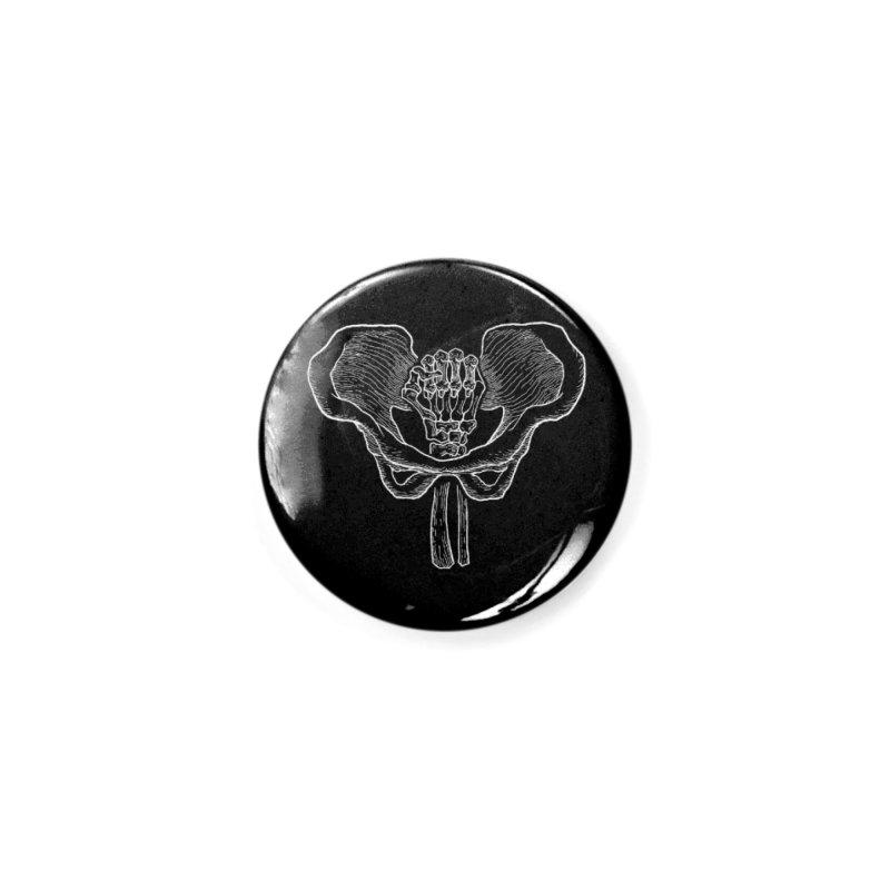 FIST (Lacour x Voidmerch) wht Accessories Button by VOID MERCH