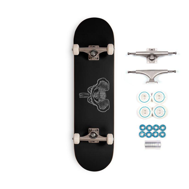 FIST (Lacour x Voidmerch) wht Accessories Complete - Basic Skateboard by VOID MERCH