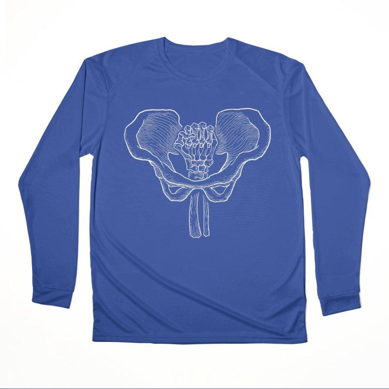 FIST (Lacour x Voidmerch) wht Men's Performance Longsleeve T-Shirt by VOID MERCH
