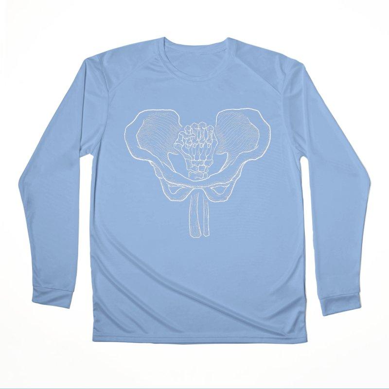 FIST (Lacour x Voidmerch) wht Women's Performance Unisex Longsleeve T-Shirt by VOID MERCH
