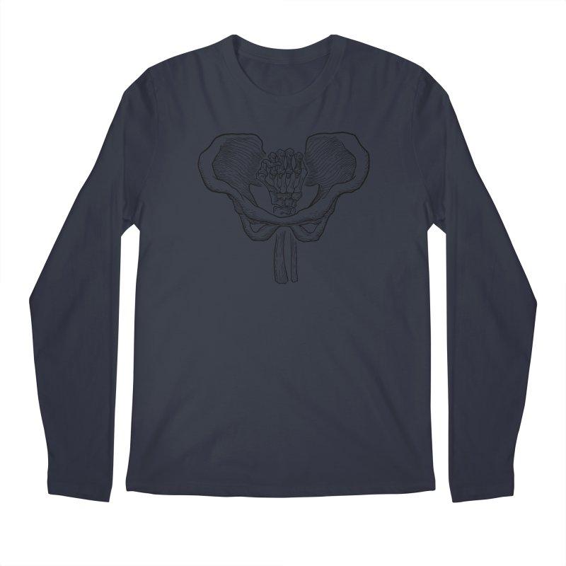 FIST (Lacour x Voidmerch) blk Men's Regular Longsleeve T-Shirt by VOID MERCH
