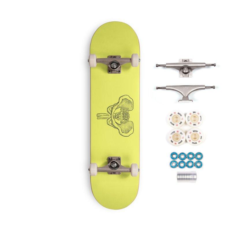 FIST (Lacour x Voidmerch) blk Accessories Complete - Premium Skateboard by VOID MERCH