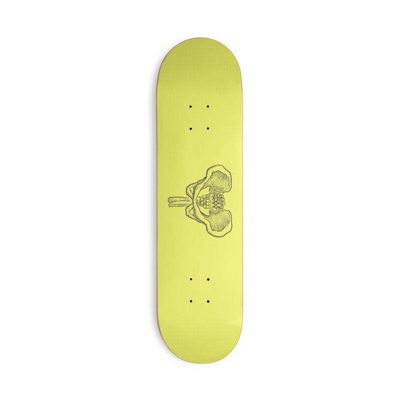 FIST (Lacour x Voidmerch) blk Accessories Deck Only Skateboard by VOID MERCH