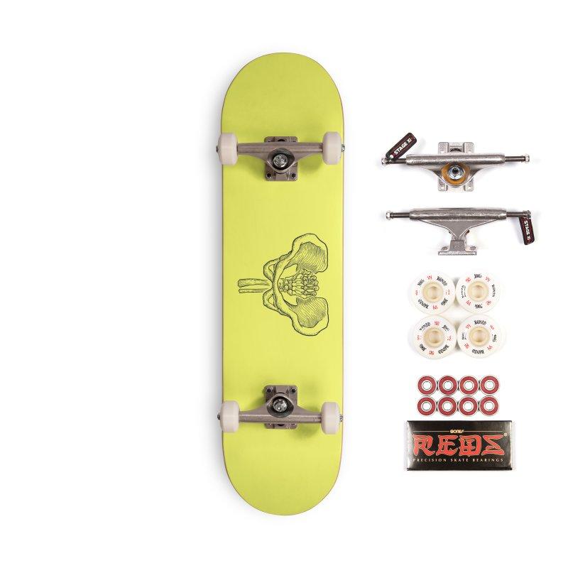 FIST (Lacour x Voidmerch) blk Accessories Complete - Pro Skateboard by VOID MERCH