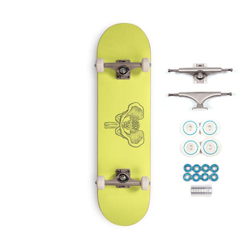 FIST (Lacour x Voidmerch) blk Accessories Complete - Basic Skateboard by VOID MERCH