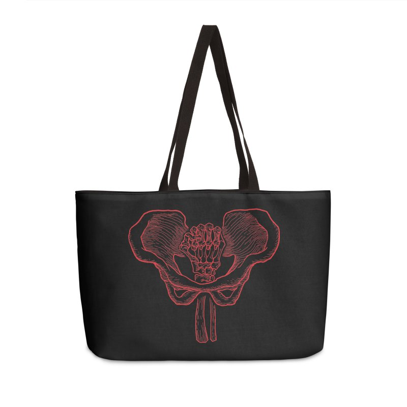 FIST (Lacour x Voidmerch) rd Accessories Weekender Bag Bag by VOID MERCH