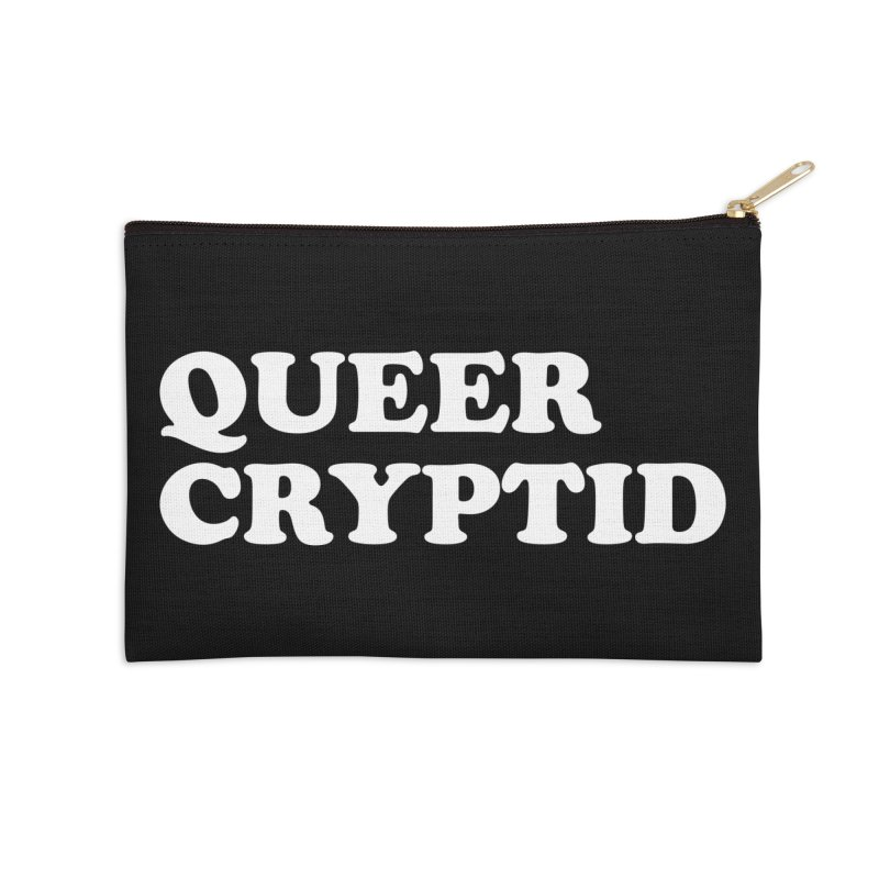 Queer Cryptid (Cooper) wht Accessories Zip Pouch by VOID MERCH