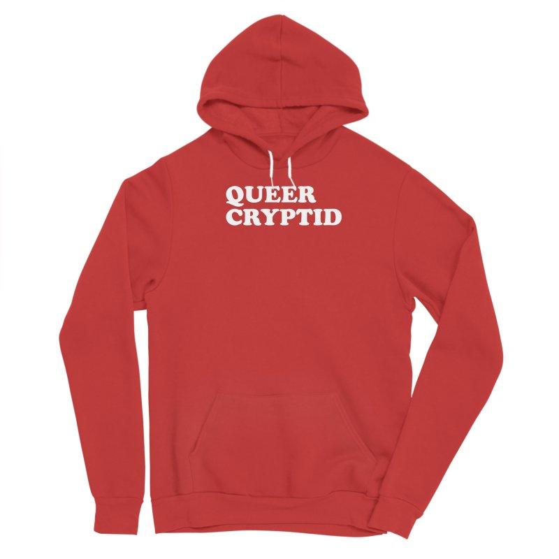 Queer Cryptid (Cooper) wht Men's Sponge Fleece Pullover Hoody by VOID MERCH