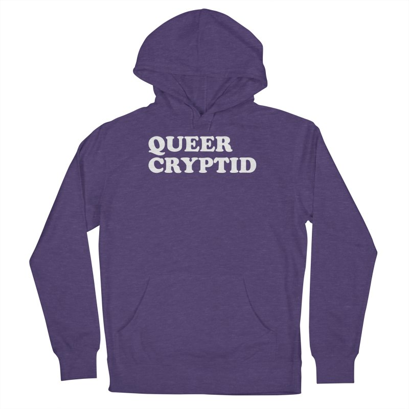 Queer Cryptid (Cooper) wht Women's French Terry Pullover Hoody by VOID MERCH