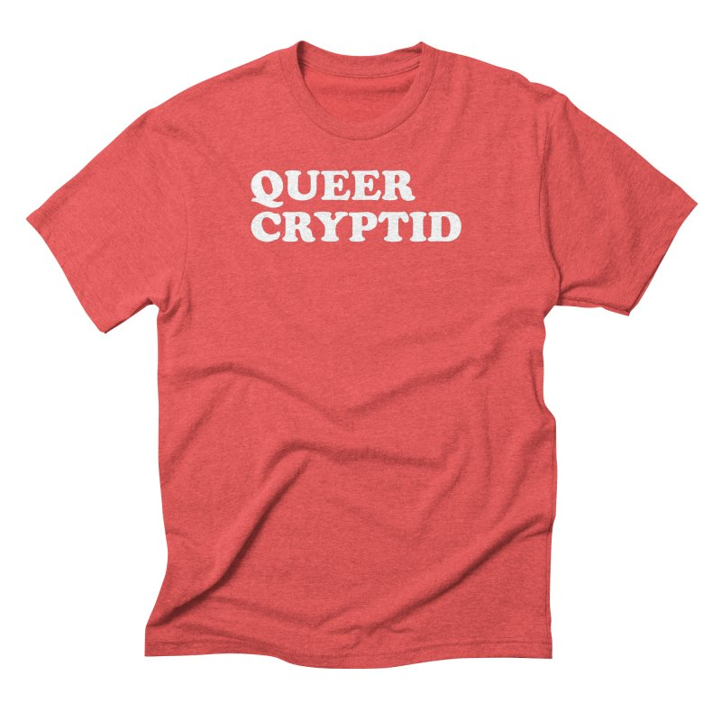 Queer Cryptid (Cooper) wht Men's Triblend T-Shirt by VOID MERCH