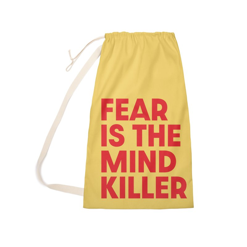 FEAR IS THE MIND KILLER (rd) Accessories Laundry Bag Bag by VOID MERCH