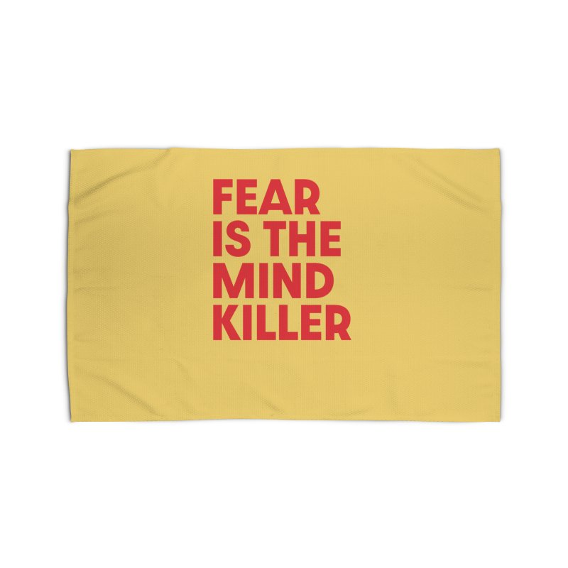 FEAR IS THE MIND KILLER (rd) Home Rug by VOID MERCH