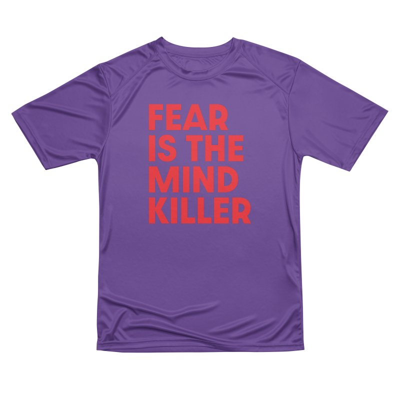 FEAR IS THE MIND KILLER (rd) Men's Performance T-Shirt by VOID MERCH