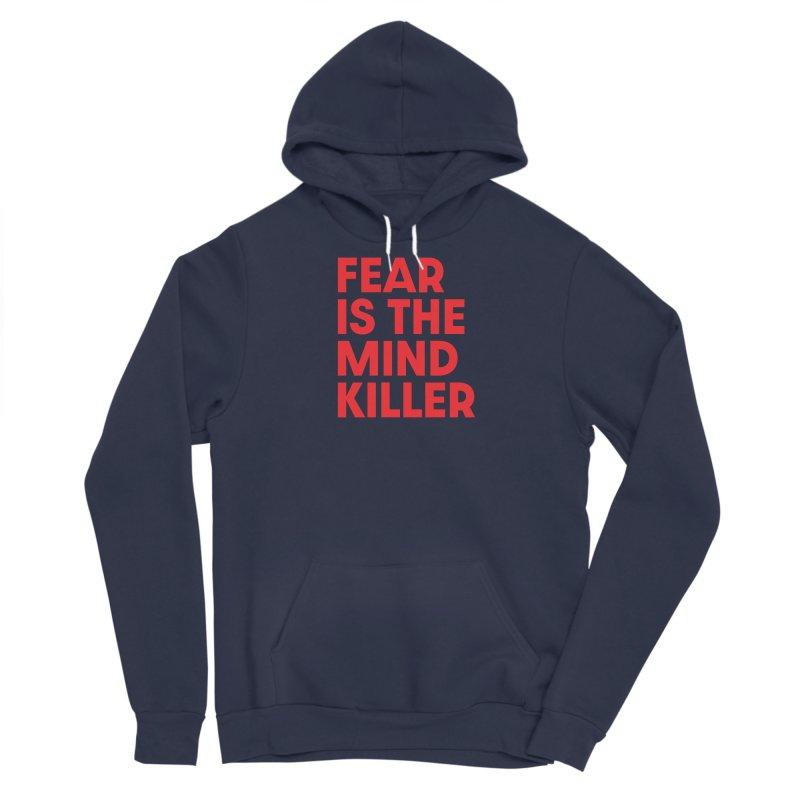 FEAR IS THE MIND KILLER (rd) Women's Sponge Fleece Pullover Hoody by VOID MERCH