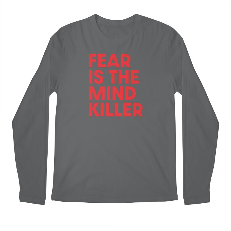 FEAR IS THE MIND KILLER (rd) Men's Regular Longsleeve T-Shirt by VOID MERCH