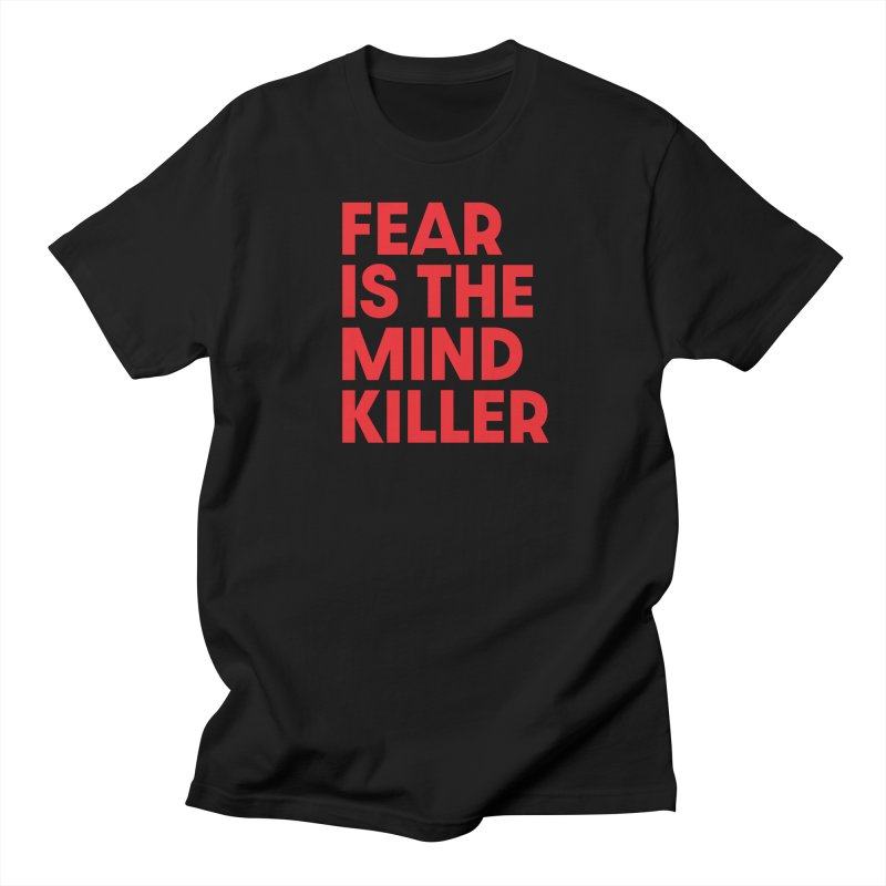 FEAR IS THE MIND KILLER (rd) Men's Regular T-Shirt by VOID MERCH