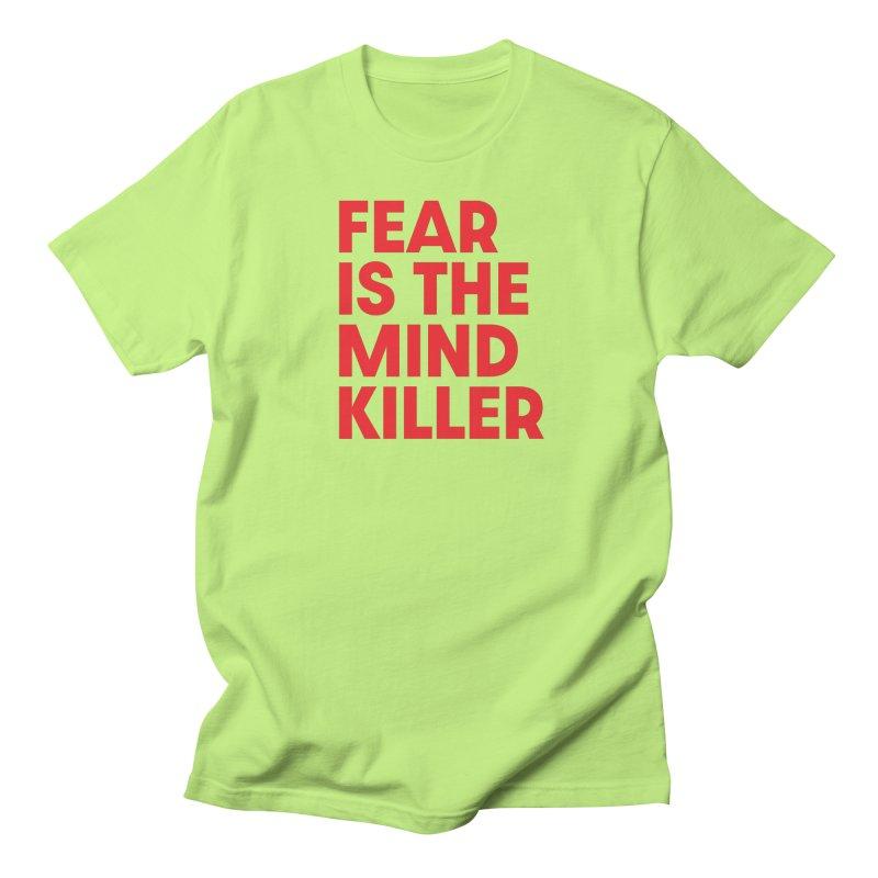 FEAR IS THE MIND KILLER (rd) Women's Regular Unisex T-Shirt by VOID MERCH