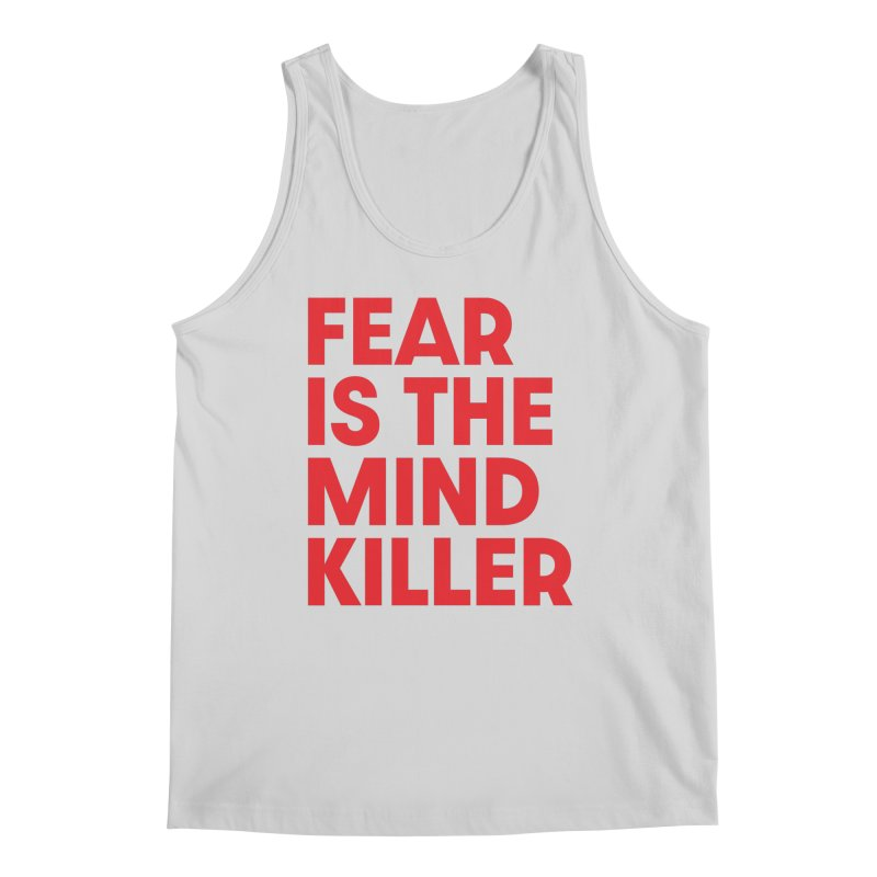 FEAR IS THE MIND KILLER (rd) Men's Regular Tank by VOID MERCH
