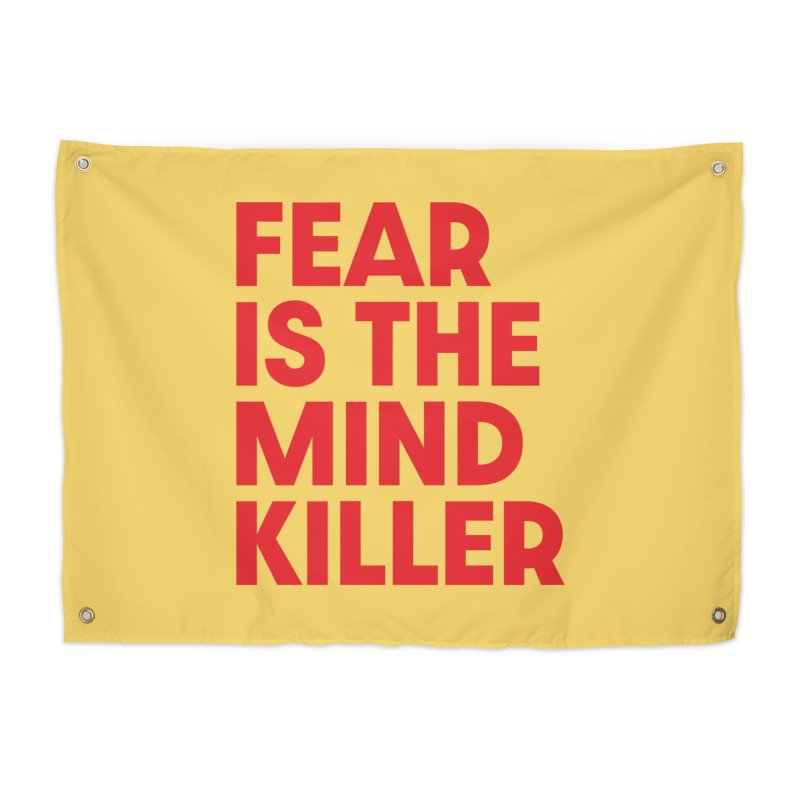 FEAR IS THE MIND KILLER (rd) Home Tapestry by VOID MERCH