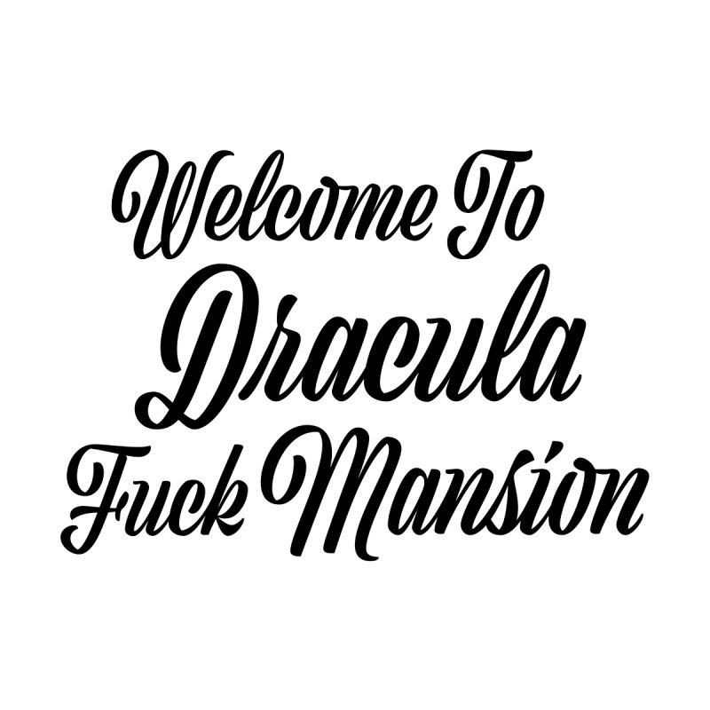DRACULA FUCK MANSION Femme Pullover Hoody by VOID MERCH
