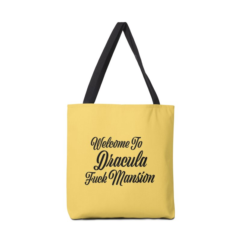 DRACULA FUCK MANSION Accessories Bag by VOID MERCH