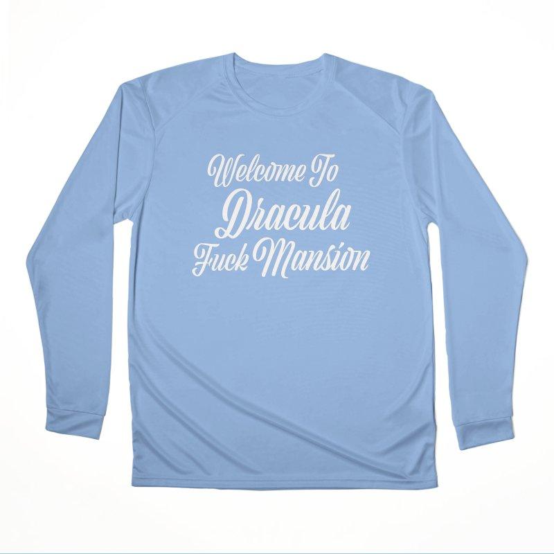 DRACULA FUCK MANSION Femme Longsleeve T-Shirt by VOID MERCH