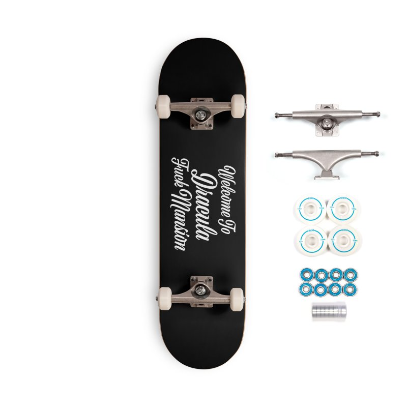 DRACULA FUCK MANSION Accessories Skateboard by VOID MERCH