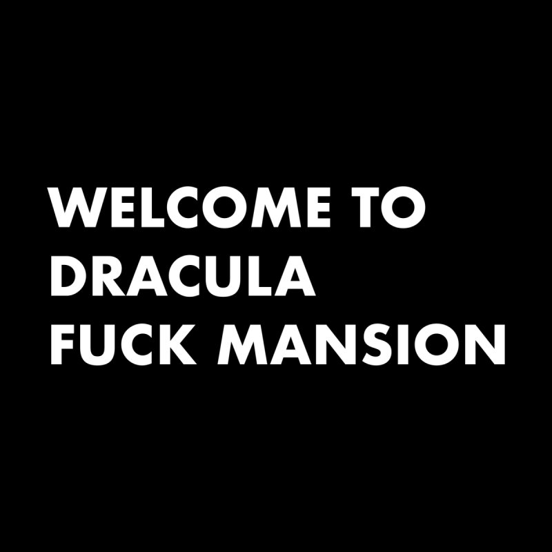 DRACULA FUCK MANSION (SANS) Accessories Skateboard by VOID MERCH