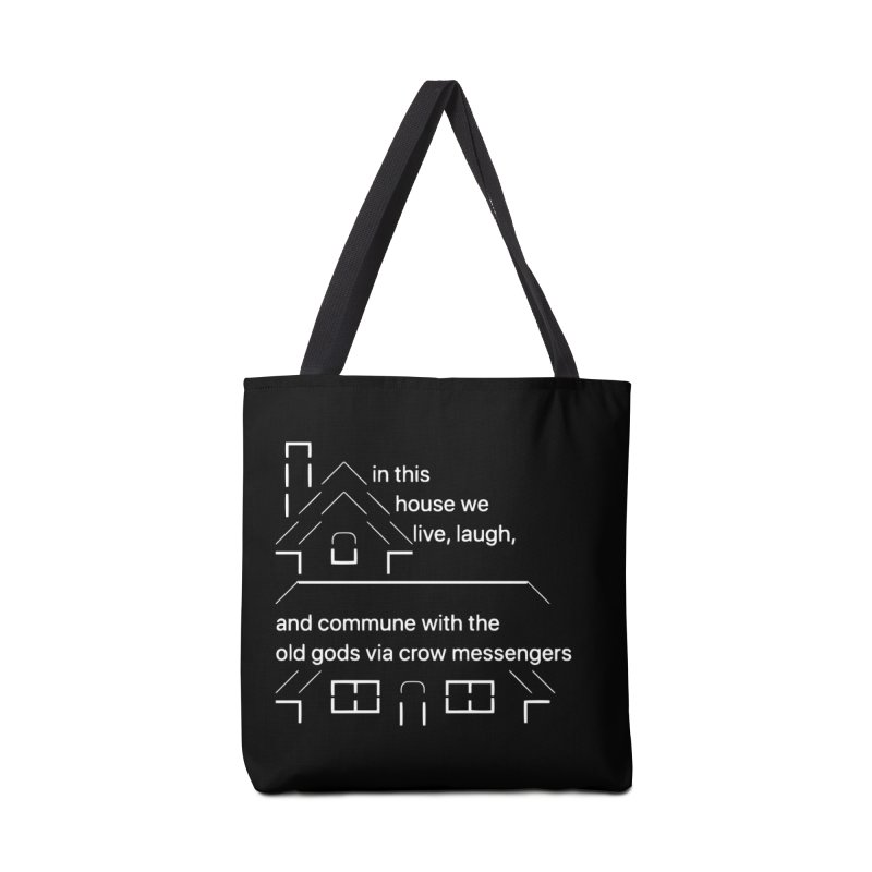 IN THIS HOUSE...CROWS! Accessories Bag by VOID MERCH