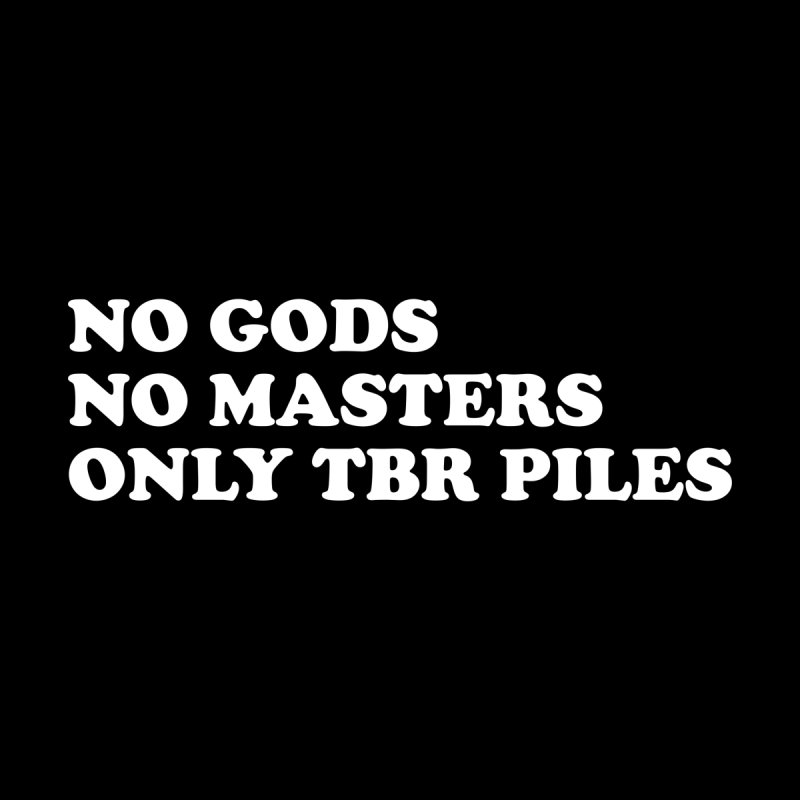 NO GODS NO MASTERS ONLY TBR (Cooper wht) Femme Longsleeve T-Shirt by VOID MERCH