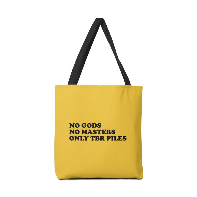 NO GODS NO MASTERS ONLY TBR (Cooper blk) Accessories Bag by VOID MERCH