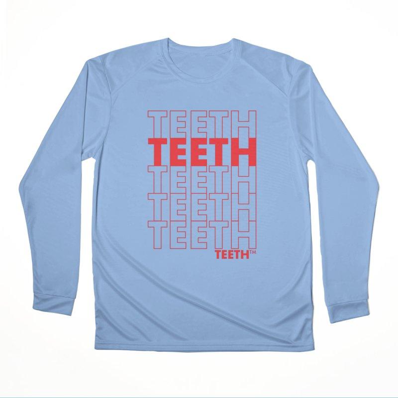 TEETH TEETH TEETH TEETH (rd) Femme Longsleeve T-Shirt by VOID MERCH