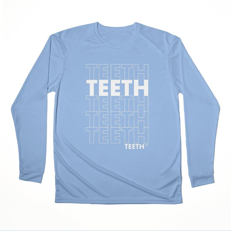 TEETH TEETH TEETH TEETH 9wht) Femme Longsleeve T-Shirt by VOID MERCH