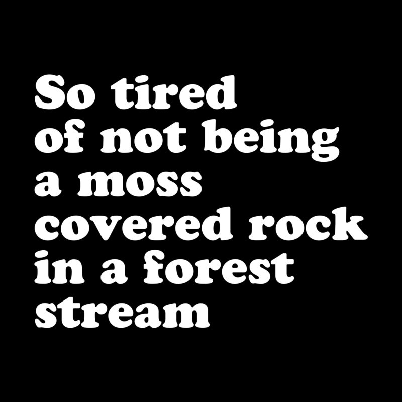 so tired of not being a moss covered rock CROW WITCH x VOIDMERCH Femme T-Shirt by VOID MERCH