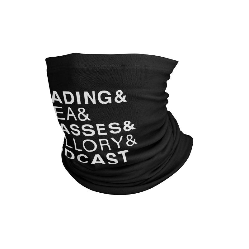 READING&GLASSES&PODCAST (Reading Glasses Podcast x Voidmerch) Accessories Neck Gaiter by VOID MERCH