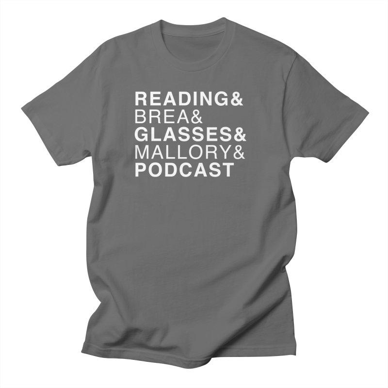 READING&GLASSES&PODCAST (Reading Glasses Podcast x Voidmerch) Masc T-Shirt by VOID MERCH